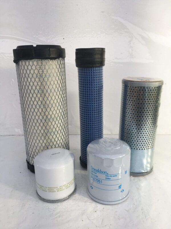 doosan dx27z filter kit